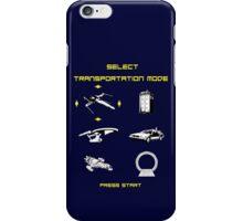 Sci-fi Transportation 2 iPhone Case/Skin