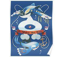 Team Aqua Crest  Poster