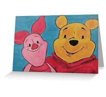 Disney Winnie-the-Pooh Fan Art Greeting Card