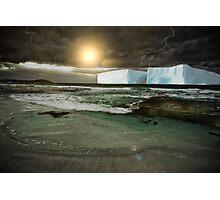 CLIMATE CHANGE? INFINITE FUTURE CHAOS! Photographic Print
