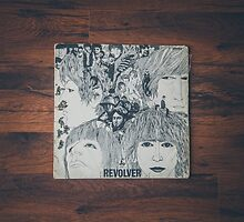The Beatles Revolver album sleeve by timboss81