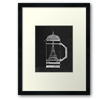 French Press... Framed Print