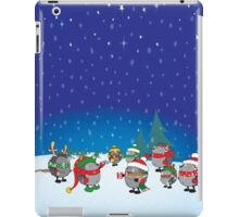 Hedgehog's Christmas magic iPad Case/Skin