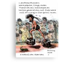 Evolution Series: The Running Shoe 2 Canvas Print
