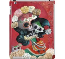 Mexican Skeletons Mother and Daughter iPad Case/Skin