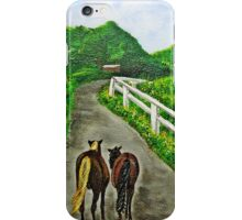 Just a Couple of Asses...Down On Oko's Farm iPhone Case/Skin