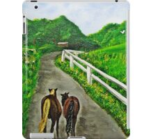 Just a Couple of Asses...Down On Oko's Farm iPad Case/Skin