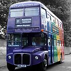 The rainbow bus by Roxy J