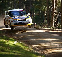 flying rally car2 by pmitchell