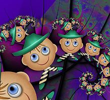 Inner Child - Leprechauns in a Psychedelic World by lacitrouille