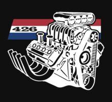 426 HEMI V8 Blown Engine T-Shirt