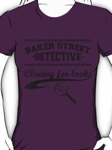 Baker Street Detective (Black) T-Shirt
