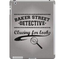 Baker Street Detective (Black) iPad Case/Skin