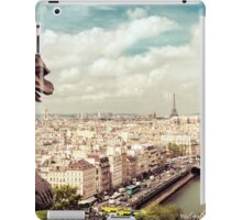 Paris - Gargoyle's Eye View iPad Case/Skin
