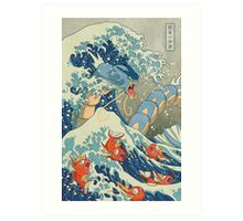 The Great Wave off Kanto Art Print