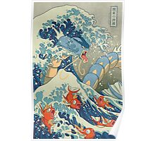The Great Wave off Kanto Poster