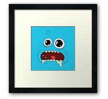 MR MEESEEKS! Framed Print