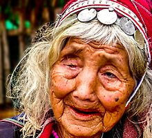 Tribal and very old, Chiang Mai, Thailand by indiafrank