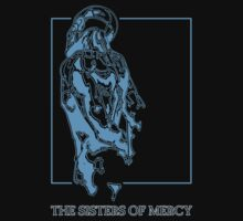 The Sisters Of Mercy - The Worlds End - Back Blue by createdezign