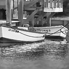 Boats Waiting by Eileen McVey