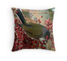 Fig Bird Throw Pillow