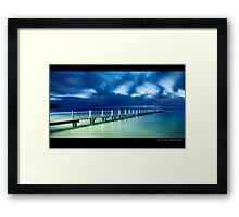 North Narrabeen Pool Framed Print