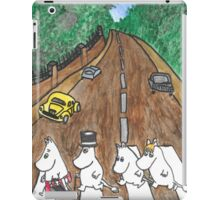 Moomins Parody Abbey Road  iPad Case/Skin
