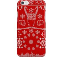 Have a MARVEL-ous Christmas! iPhone Case/Skin