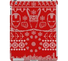 Have a MARVEL-ous Christmas! iPad Case/Skin