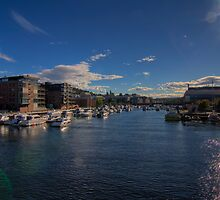 Trondheim - Two Hours of Sunshine by Stefan Trenker