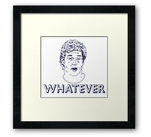 Cutty Don't Care Framed Print