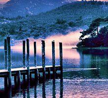 Misty Morning On Derwent Water - Chapman Edit. by JoLennox