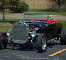 1927 Ford Model A Roadster Hot Rod by TeeMack