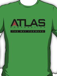 Atlas Corp Black T-Shirt