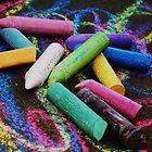 SideWalk Chalk 2 by Chloe Garfield