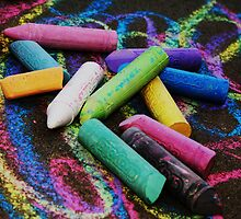 SideWalk Chalk 2 by Chloe Garfield