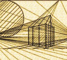 LINES IN PERSPECTIVE 1 by Jason Byrne (jB)