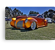 Lincoln Zephyr hot rod in gold Canvas Print