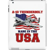 A-10 Thunderbolt Made in the USA iPad Case/Skin