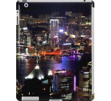 Night on the City V - Hong Kong. iPad Case/Skin