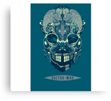 Doctor Who BrainStorm Canvas Print
