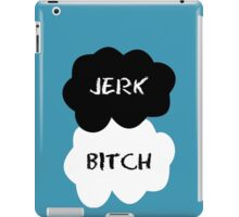 Jerk - Bitch The Fault in Our Stars Clouds iPad Case/Skin