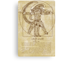 Vitruvian Hunters Canvas Print
