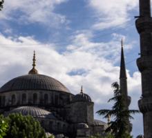 Blue Mosque Sticker