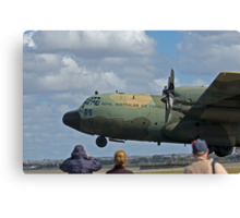 RAAF Hercules Landing Canvas Print