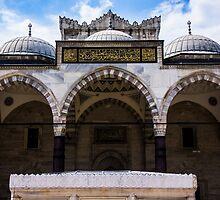 The Courtyard Of Suleymaniye by Mohammed Abdul Quddus