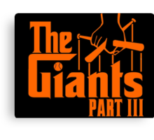 The GIANTS Part III Canvas Print