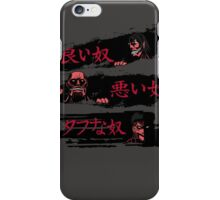 The Good,the Bad and the tough one iPhone Case/Skin