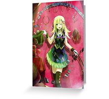 Yu-gi-oh! - Dark Magician Girl Greeting Card
