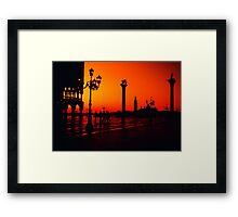 Venice - Piazza San Marco - Italy Framed Print